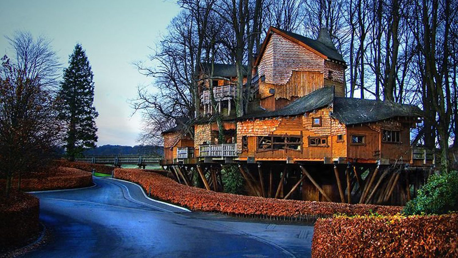 Idaho House Treehouse Restaurant Alnwick