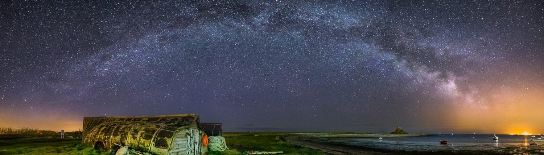 Stargazing in Northumberland