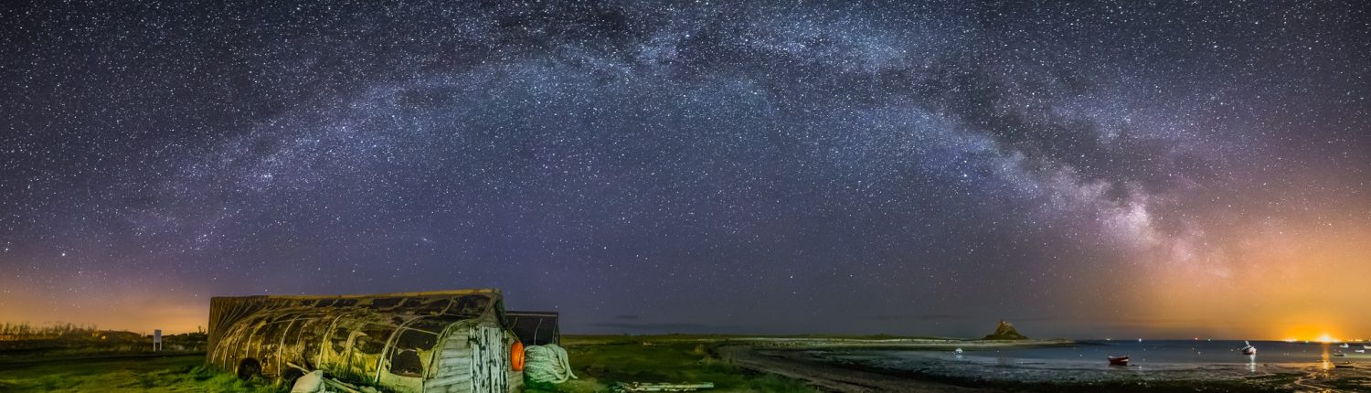 Stargazing in Northumberland